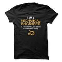 Mechanical Engineer T-Shirts, Hoodies (19$ ==► Shopping Now to order this Shirt!)