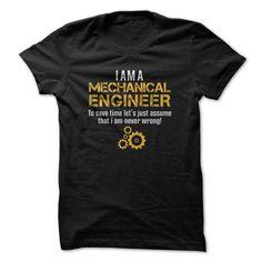 Mechanical Engineer T Shirts, Hoodies. Check price ==► https://www.sunfrog.com/Jobs/Mechanical-Engineer-78237581-Guys.html?41382 $19