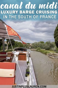 Cruising the Canal du Midi Aboard the Athos Luxury Barge, TRAVEL, Cruising the Canal du Midi Aboard the Athos Luxury Barge Usa Travel, Europe Travel Tips, Solo Travel, Luxury Travel, Travel Destinations, Backpacking Europe, Travel Hacks, Travel Packing, Travel Essentials
