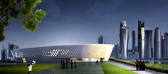 Ladies Sports Centre - Fenwick Iribarren Architects _ Doha Qatar