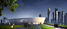 Ladies Sports Centre - Fenwick Iribarren Architects _ Doha Qatar