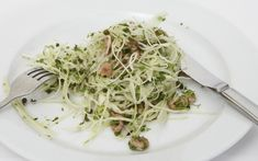 Fergus Henderson's white cabbage and brown shrimp salad.