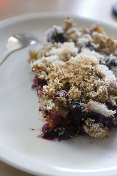 Baked oatmeal with fruit recipe