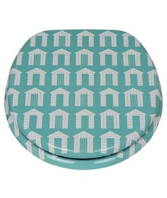 Buy HOME Beach Huts Toilet Seat - Aqua at Argos.co.uk - Your Online Shop for Toilet seats.
