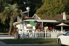 Boyle's Backyard Neighborhood Bar & Grill, Historic Downtown Palm Harbor, FL - Great grilled hot wings & Buffalo shrimp!