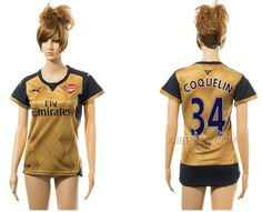 http://www.xjersey.com/201516-arsenal-34-coquelin-away-women-jersey.html 2015-16 ARSENAL 34 COQUELIN AWAY WOMEN JERSEY Only $35.00 , Free Shipping!