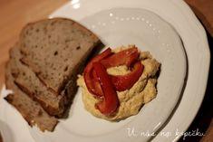 U nás na kopečku: veganská tofu pomazánka Tofu, Seitan, Meatloaf, Blog, Blogging