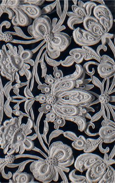 william morris inspired lace