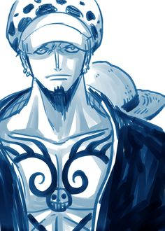 I have your back - Trafalgar D. Water Law and Monkey D. Luffy One piece