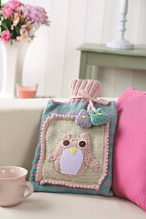 Night Owl by Nicola Valiji - Let's Knit October issue, on sale 29th August 2014