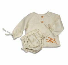 TallerMaya y su colección en lino y bordados para niños