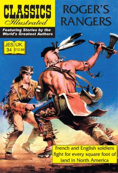 Cover for Classics Illustrated (JES) (Classic Comic Store, 2008 series) #34 - Rogers' Rangers