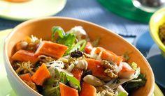 Ensalada de Barritas Krissia con frutos secos