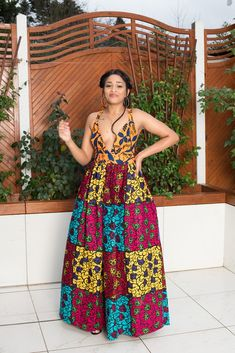 fashion womens are readily available on our web pages. Have a look and you wont be sorry you did. African Fashion Dresses, African Dress, Fashion Outfits, Ankara Fashion, Latest African Styles, Backless Maxi Dresses, Long Dresses, Summer Dresses, Summer Outfits Women