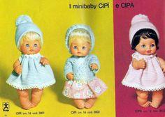 Cipì e Cipà dal catalogo furga 1972