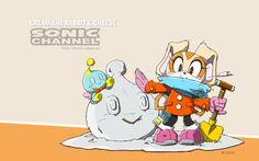 Sonic Channel 2015 . Awwww Cream so cuttteeee!!