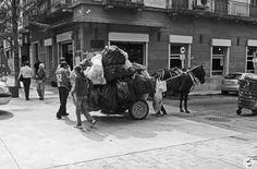 Une carriole de chiffonniers à #Montevideo