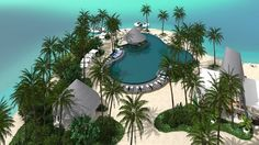 Beach Club | Kandima Maldives , 2016 - Ed Poole | Poole Associates Private Limited