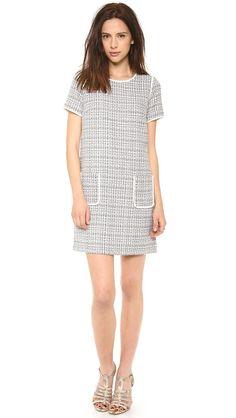 Pin for Later: In diesen Kleidern werdet ihr wie ein Boss aussehen Club Monaco Tweed Kleid Club Monaco Virginia Dress ($199)