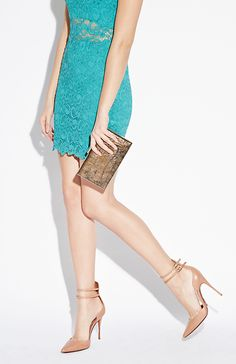 Shoes and color dress