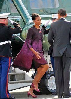 President BarackObama and First Lady Michelle Obama