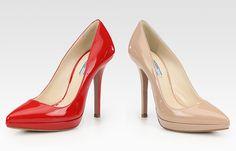 classic Prada pumps... want...