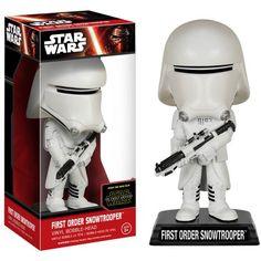 Funko Pop! Star Wars EP7 6242 Wacky Wobbler EP7 Snowtrooper, Assorted