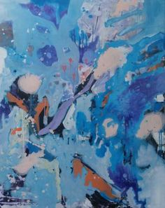 Blue day Day, Blue, Painting, Painting Art, Paintings, Painted Canvas, Drawings
