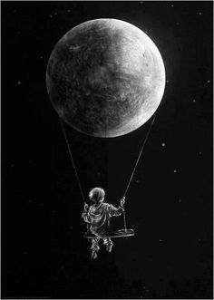 The child in the moon
