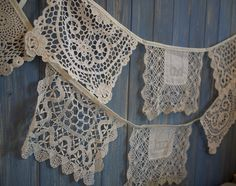 Image result for square lace bunting