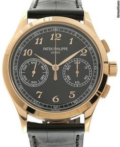 Patek Philippe 5170R-010 Complications 39.4mm Black Opaline Arabic Rose Gold Leather 2016 $ 999,800