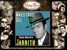 "Roque Montoya ""Jarrito"" - Si Vas a San Antolín (Cartageneras) (Flamenco Masters) Flamenco Dancers, Musical, Youtube, Decir No, Baseball Cards, Sayings, Reading, Masters, Aguilera"