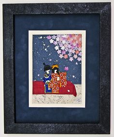 Yozakura by BooCoo Washi Art, via Flickr