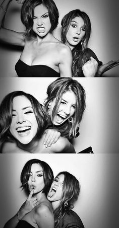 Jessica Stroup & Shenae Grimes. Otherwise known as two of the most beautiful people ever.