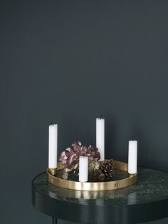Candle Holder Circle - Small 2