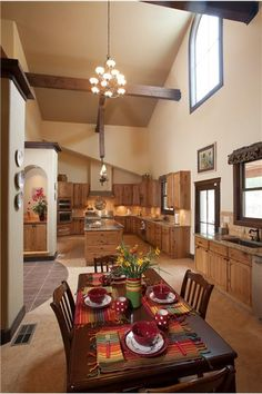 The dining room of this 7 room ranch. Fully decorated to have the local fusion of style. Owned and decorated by Marianne Williamson, Fiber Artist. Ranch for Sale. Click for details.