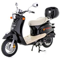 50cc Scooter - Direct Bikes Retro Scooter £749 www.scooter.co.uk