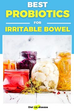 Irritable bowel syndrome (IBS) is gastrointestinal disorder that causes many digestive problems. Probiotics are recognized as a new treatment option, but it's a topic  that is clouded by a lot of confusion and scientific jargon. This is a review of what the best probiotics for IBS actually are, explained in a way you can understand. Irritable Bowel Diet, Irritable Bowel Syndrome, Ibs, Nutrition Education, Nutrition Tips, Healthy Nutrition, Health Routine, Thyroid Diet, Food Intolerance