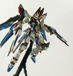 GUNDAM GUY: 1/100 Strike Freedom Gundam Full Resin Kit - Painted Build