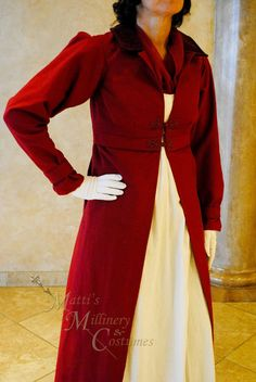 CUSTOM Regency Jane Austen dress Spencer Jacket by MattiOnline