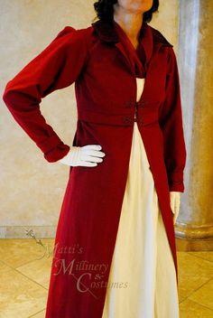 CUSTOM Regency Jane Austen dress Spencer Jacket by MattiOnline