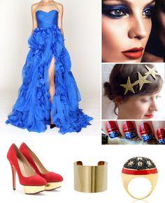 Wonder Woman Wedding Inspiration
