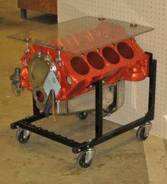 engine end table | Engine Block End Table