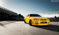 Nissan GTR R34 | Photo by Mitch Hemming Photography on Flickr.