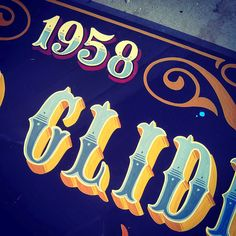 Tj Pinstriping: Duo Glide sign