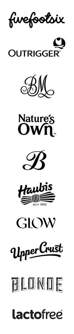 Logos Set 2 on Typography Served