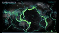A Luminescent Map of the World's Earthquakes Since 1898