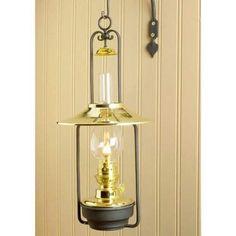 Lamp Charmante Hanging Wall Oil Lamp