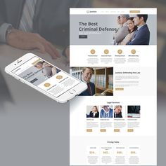 Justizia - Lawyer Services Moto CMS HTML Template