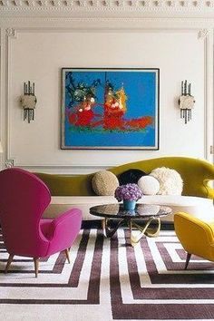 Interior Design Business, Best Interior Design, Luxury Interior, Living Room Trends, Living Rooms, Home Design Blogs, White Home Decor, Shades Of Yellow, Hadley